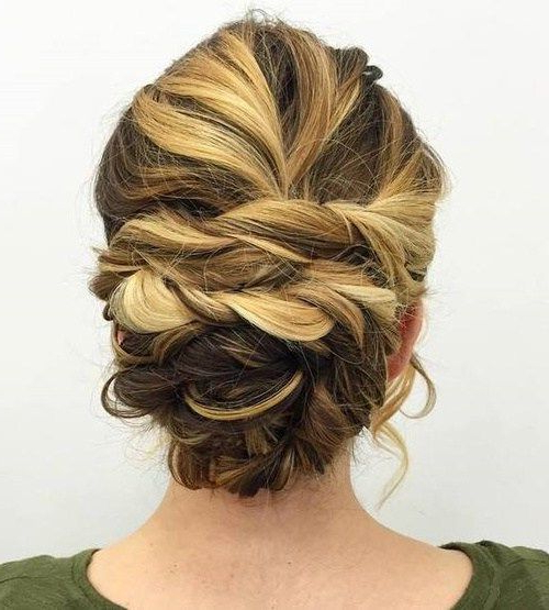 40 Chic Messy Updos For Long Hair | Hair Styles | Pinterest | Hair With Regard To Two Toned Twist Updos For Wedding (View 22 of 25)