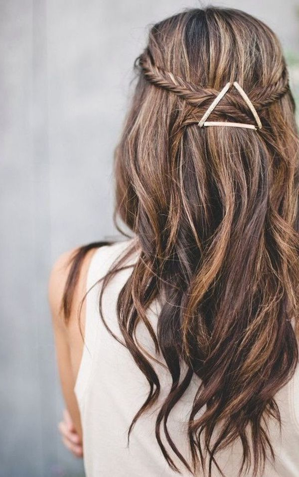 40 Cute Hairstyles For Teen Girls 9 | Braids | Hair Styles, Hair Throughout Simple And Cute Wedding Hairstyles For Long Hair (View 17 of 25)