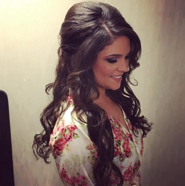 40 Of The Most Amazing Wedding Hairstyles For Your Big Day Inside Half Up Wedding Hairstyles With Jeweled Clip (View 20 of 25)