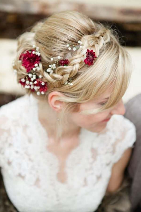 40 Of The Most Amazing Wedding Hairstyles For Your Big Day Intended For Sophisticated Pulled Back Cascade Bridal Hairstyles (View 17 of 25)