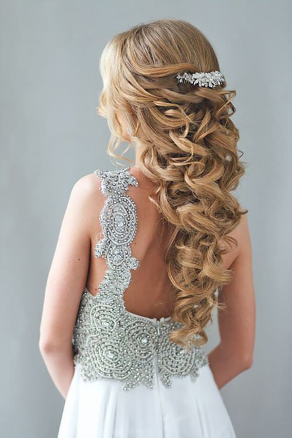 40 Of The Most Amazing Wedding Hairstyles For Your Big Day Pertaining To Sophisticated Pulled Back Cascade Bridal Hairstyles (View 5 of 25)