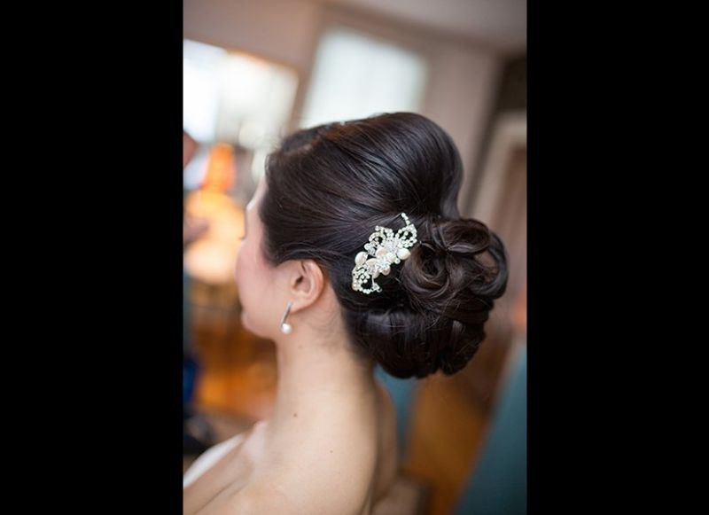 40+ Wedding Updos That Are Beautiful From Every Angle With Regard To Swirled Wedding Updos With Embellishment (View 15 of 25)