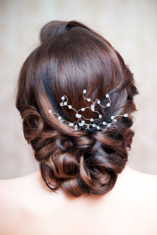 42 Mother Of The Bride Hairstyle, Latest Bride Hairstyle 2019 – My For Creative And Curly Updos For Mother Of The Bride (View 15 of 25)