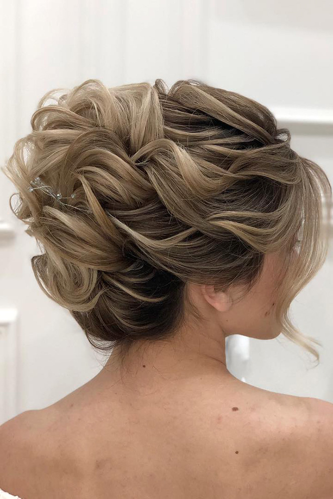 42 Mother Of The Bride Hairstyle, Latest Bride Hairstyle 2019 – My Inside Creative And Curly Updos For Mother Of The Bride (View 7 of 25)