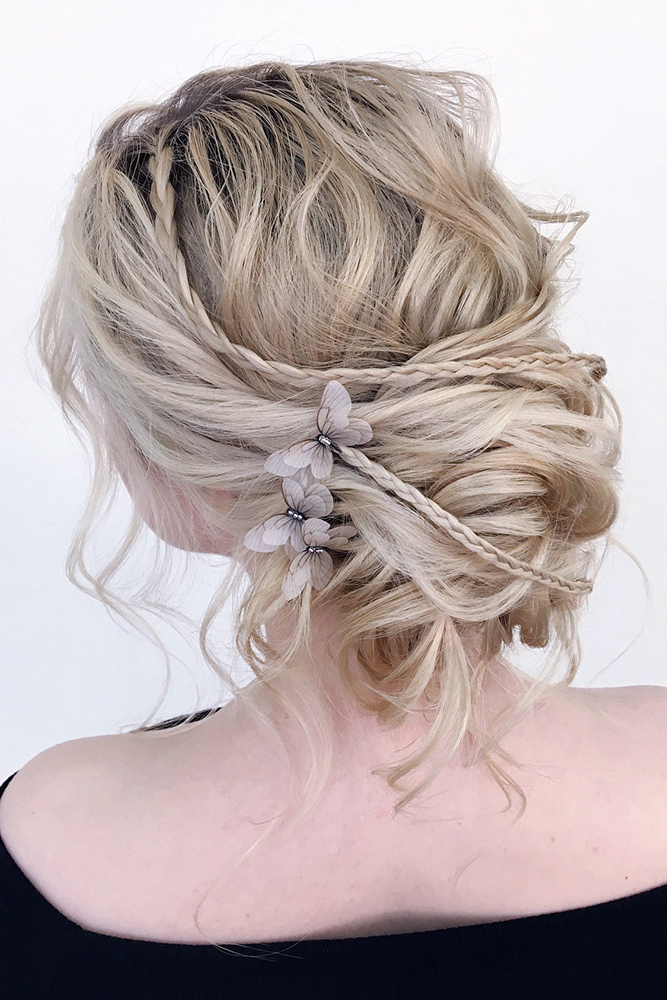 42 Mother Of The Bride Hairstyle, Latest Bride Hairstyle 2019 – My Intended For Creative And Curly Updos For Mother Of The Bride (View 21 of 25)