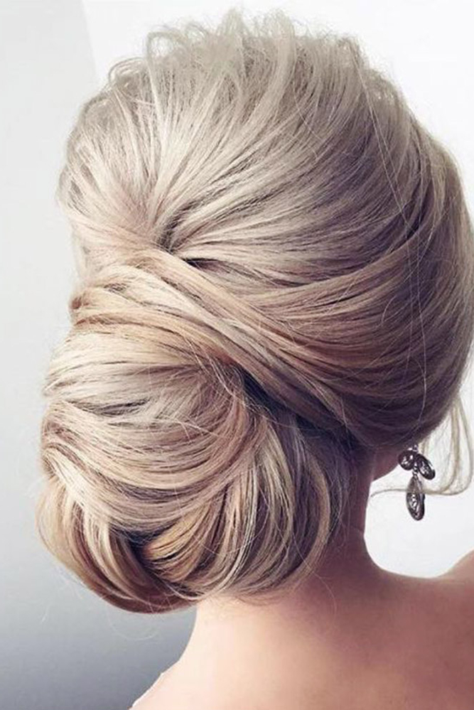 42 Mother Of The Bride Hairstyle, Latest Bride Hairstyle 2019 – My Intended For Upswept Hairstyles For Wedding (View 14 of 25)