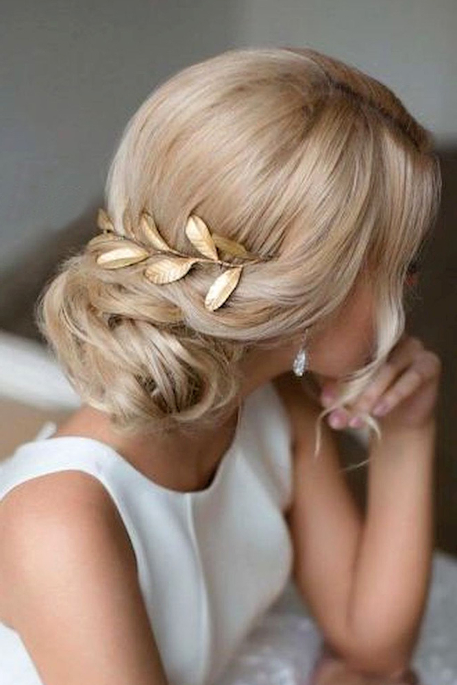 42 Mother Of The Bride Hairstyle, Latest Bride Hairstyle 2019 – My With Regard To Low Messy Bun Hairstyles For Mother Of The Bride (View 14 of 25)