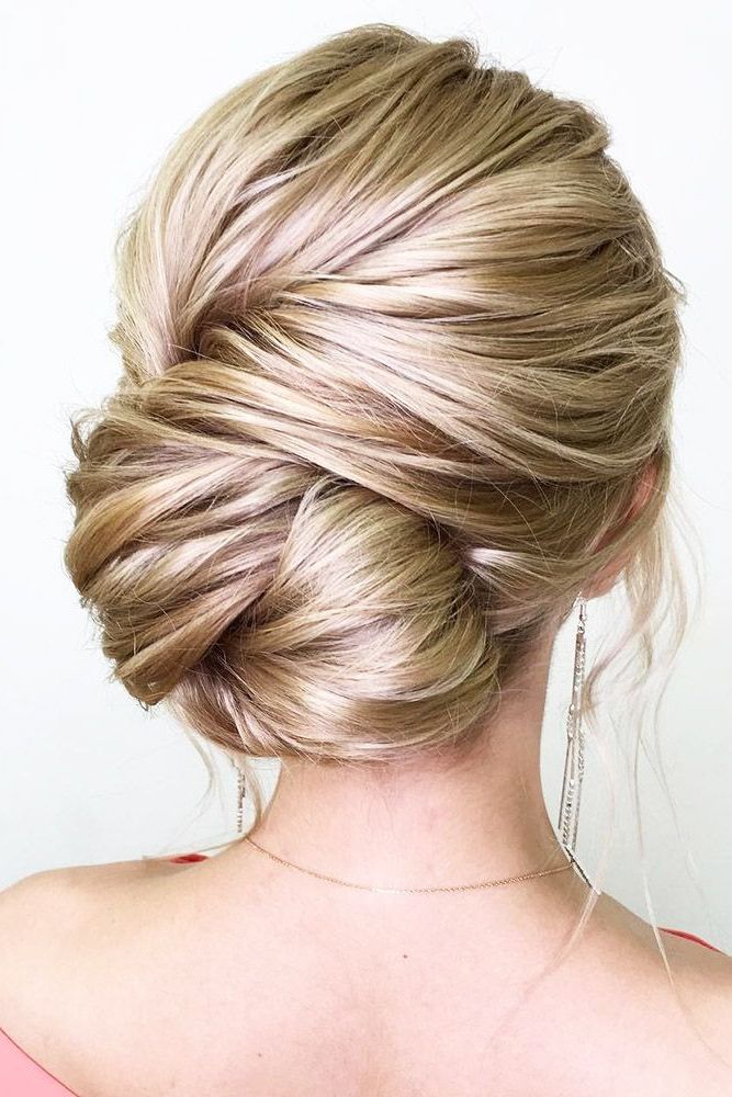 42 Wedding Updos For Long Hair | Wedding Hair | Wedding Hairstyles With Regard To Two Toned Twist Updos For Wedding (View 20 of 25)