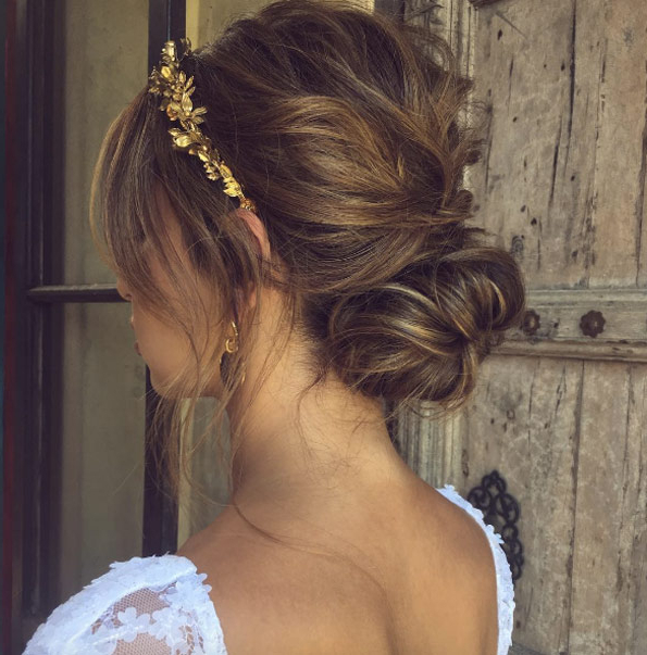 43 Elaborate Bridal Hairstyles Your Summer Wedding Needs – Style Skinner For Wedding Low Bun Bridal Hairstyles (View 8 of 25)