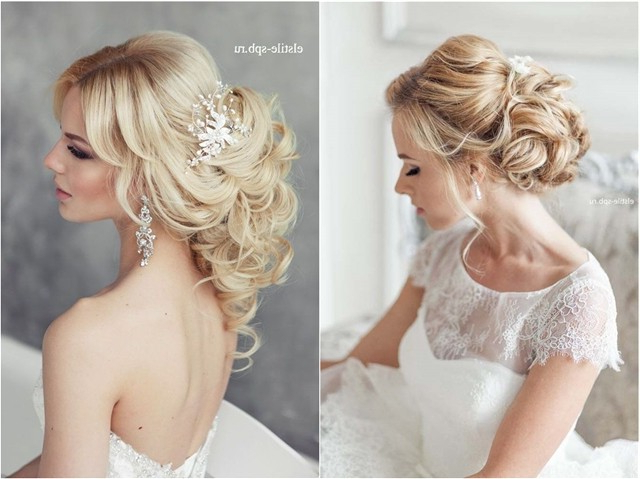45 Most Romantic Wedding Hairstyles For Long Hair – Hi Miss Puff For Teased Wedding Hairstyles With Embellishment (View 24 of 25)