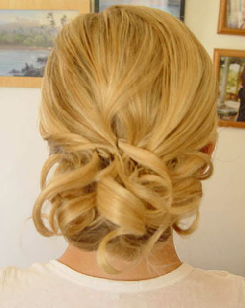 46 Best Ideas For Hairstyles For Thin Hair For Messy Bun Wedding Hairstyles For Shorter Hair (View 13 of 25)