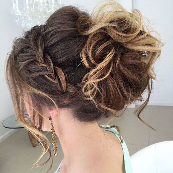 46 Best Ideas For Hairstyles For Thin Hair Inside Low Messy Bun Wedding Hairstyles For Fine Hair (View 5 of 25)