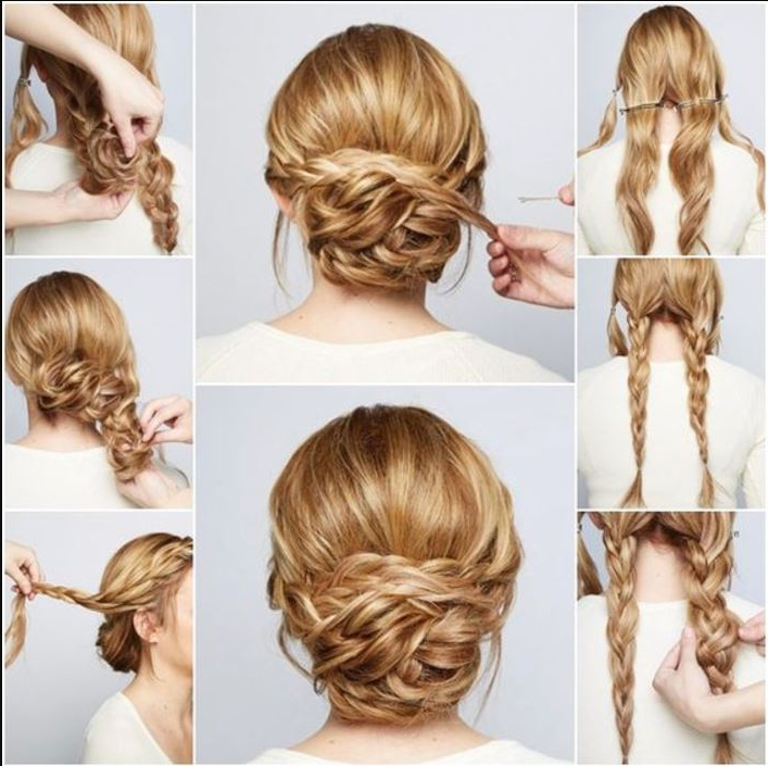 46 Best Ideas For Hairstyles For Thin Hair Pertaining To Low Messy Bun Wedding Hairstyles For Fine Hair (View 19 of 25)