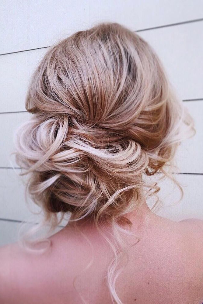 48 Mother Of The Bride Hairstyles | Curl Pattern | Pinterest | Hair Regarding Low Messy Bun Hairstyles For Mother Of The Bride (View 2 of 25)