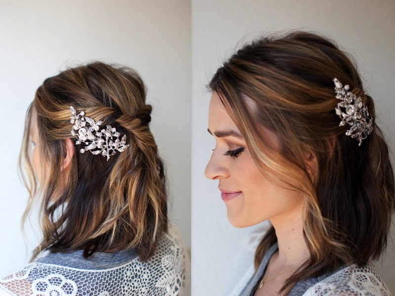 5 Hairstyle Ideas To Try At The Office – Hair World Magazine With Sleek Bridal Hairstyles With Floral Barrette (View 15 of 25)