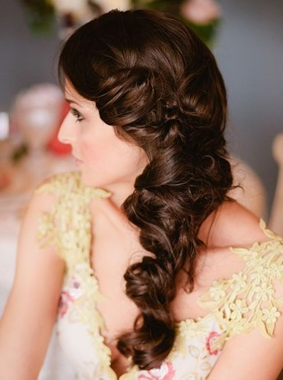5 Trendy Hairstyles For Brides – Indian Wedding Planning – Wedding With Sectioned Twist Bridal Hairstyles (View 22 of 25)