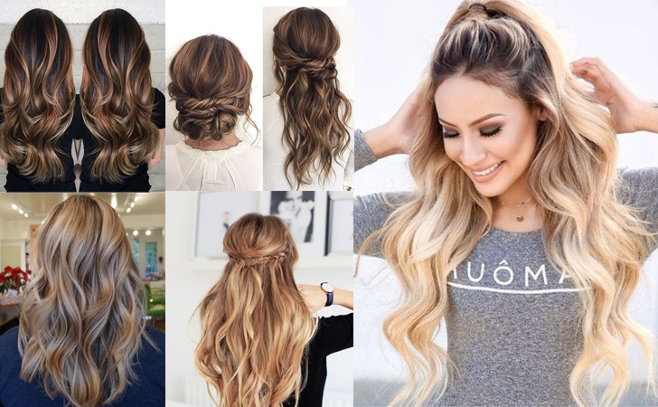 50 Amazing Long Hairstyles & Cuts 2019 – Easy Layered Long Hairstyles Throughout Easy Cute Gray Half Updo Hairstyles For Wedding (View 20 of 25)