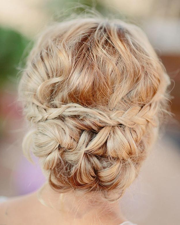50 Cute And Trendy Updos For Long Hair | Stayglam For Modern Updo Hairstyles For Wedding (View 23 of 25)