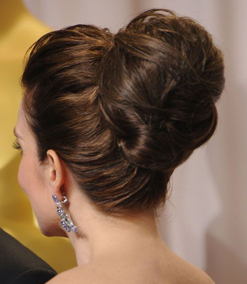 50 Easy Updo Hairstyles For Formal Events – Elegant Updos To Try With Woven Updos With Tendrils For Wedding (View 8 of 25)