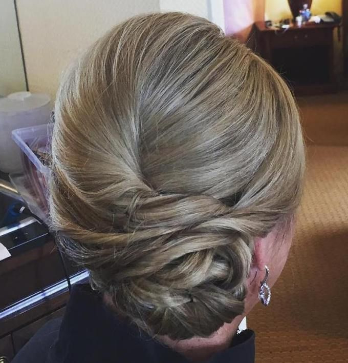 Featured Photo of Twist, Curl And Tuck Hairstyles For Mother Of The Bride
