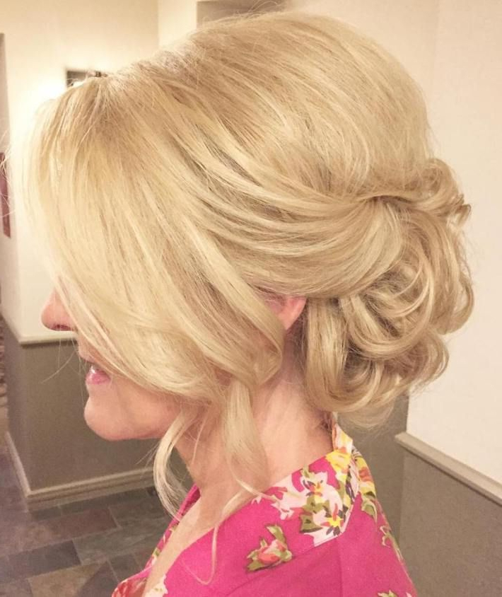 50 Ravishing Mother Of The Bride Hairstyles In 2019 | Hair | Mother Pertaining To Vintage Mother Of The Bride Hairstyles (View 8 of 25)