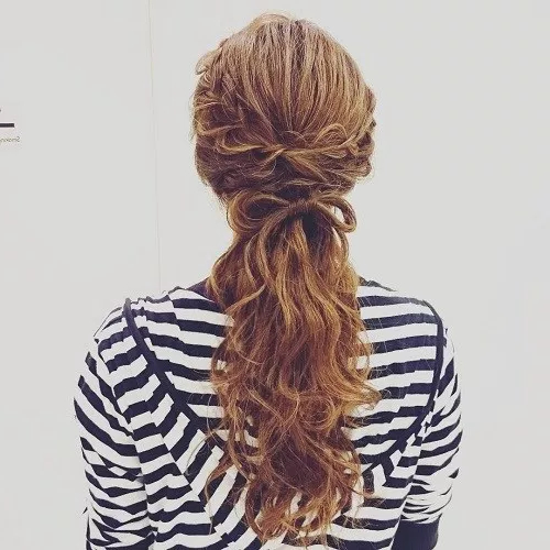 50 Stylish Half Up Half Down Wedding Hairstyles – Page 40 Of 51 With Ponytail Bridal Hairstyles With Headband And Bow (View 25 of 25)