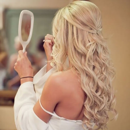 50 Unforgettable Wedding Hairstyles For Long Hair | Hair Motive Hair Throughout Simple Laid Back Wedding Hairstyles (View 20 of 25)