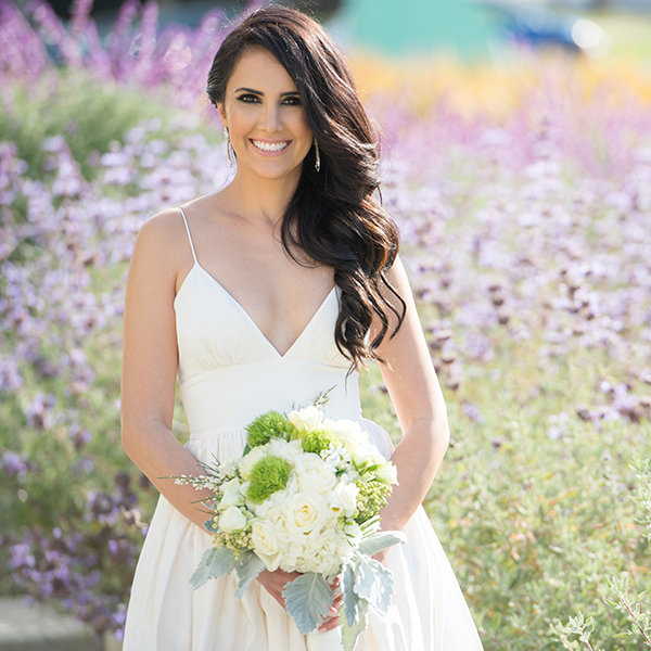 50 Wedding Hairstyles For Long Hair | Bridalguide Pertaining To Dimensional Waves In Half Up Wedding Hairstyles (View 15 of 25)