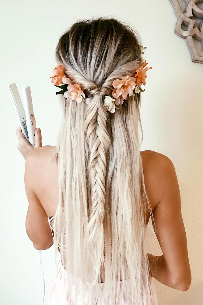 54 Best Bohemian Hairstyles That Turn Heads | Braids | Pinterest Inside Wild Waves Bridal Hairstyles (View 4 of 25)