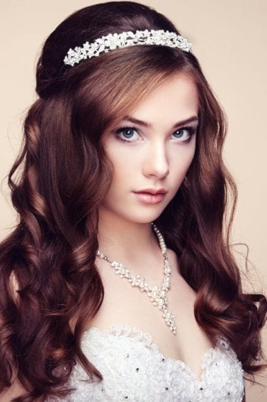 6 Gorgeous Bridesmaid Hairstyles You'll Fall In Love With | All Inside Bedazzled Chic Hairstyles For Wedding (Gallery 9 of 25)
