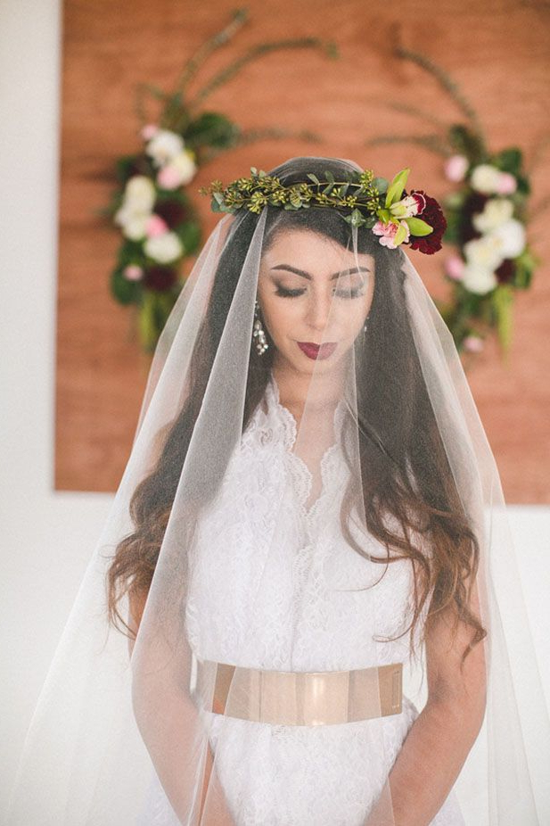6 Most Popular Types Of Wedding Veils And Wedding Hairstyles | Her World For Classic Bridal Hairstyles With Veil And Tiara (Gallery 23 of 25)