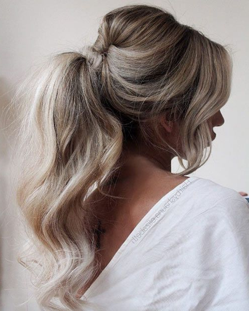 60 Gotta Have Hairstyles For Any Special Occasion | Hair Ideas Pertaining To Fancy Flowing Ponytail Hairstyles For Wedding (View 3 of 25)