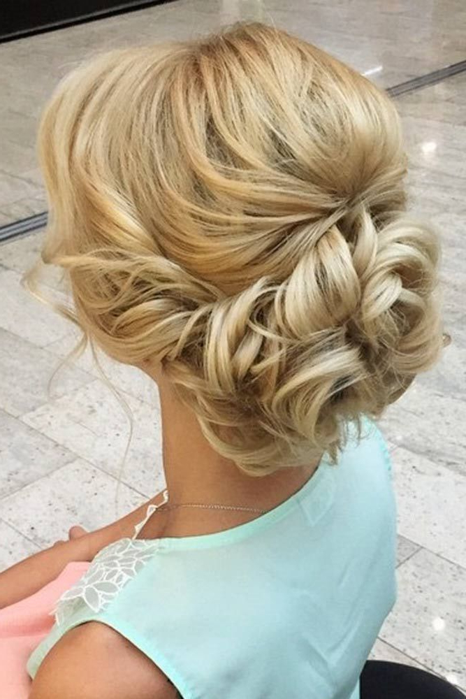 60 Sophisticated Prom Hair Updos   Hair Inspiration   Prom Hair In Lifted Curls Updo Hairstyles For Weddings (Gallery 17 of 25)
