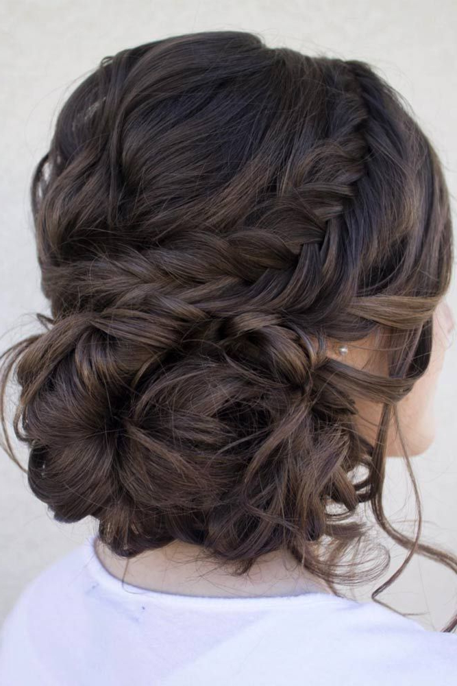 60 Sophisticated Prom Hair Updos   Prom Hair   Pinterest   Wedding Throughout Loose Updo Wedding Hairstyles With Whipped Curls (Gallery 4 of 25)