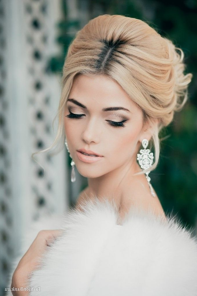 60 Unforgettable Wedding Hairstyles For Brushed Back Beauty Hairstyles For Wedding (View 4 of 25)