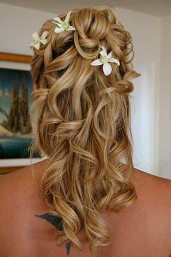 60 Unforgettable Wedding Hairstyles For Simple Laid Back Wedding Hairstyles (Gallery 11 of 25)