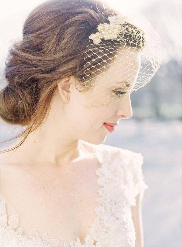 60 Unforgettable Wedding Hairstyles In Vintage Asymmetrical Wedding Hairstyles (Gallery 20 of 25)