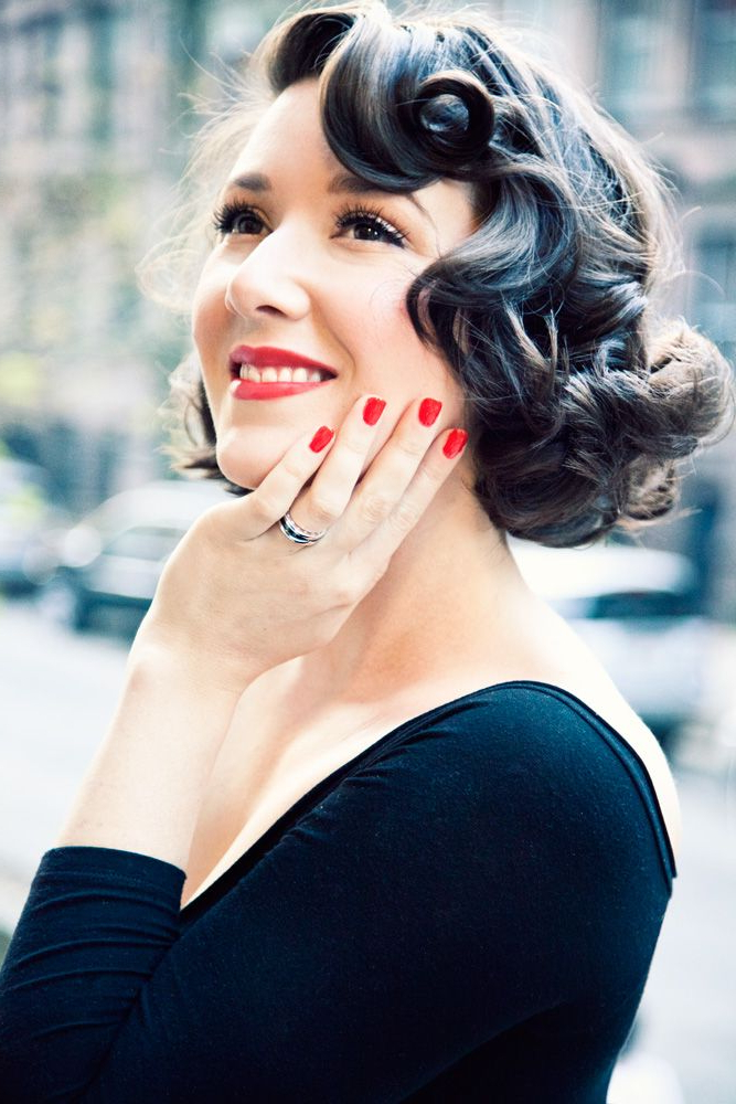 60 Unforgettable Wedding Hairstyles Pertaining To Pin Up Curl Hairstyles For Bridal Hair (View 18 of 25)