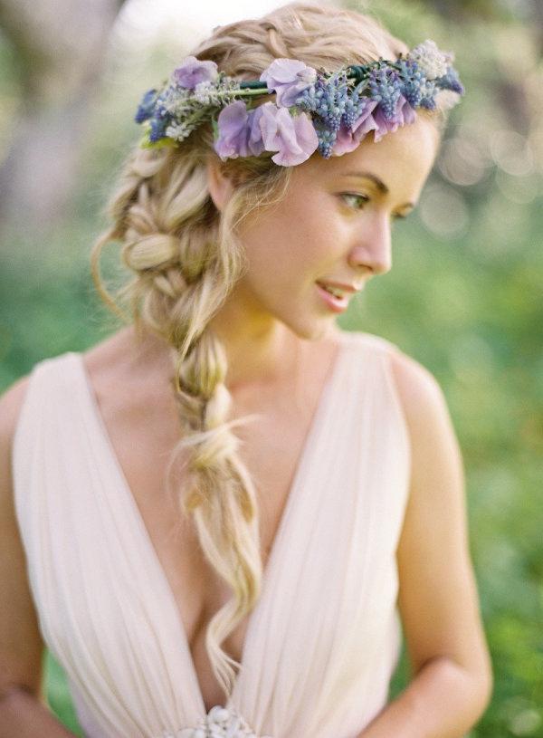 60 Unforgettable Wedding Hairstyles Regarding Braided Lavender Bridal Hairstyles (View 4 of 25)