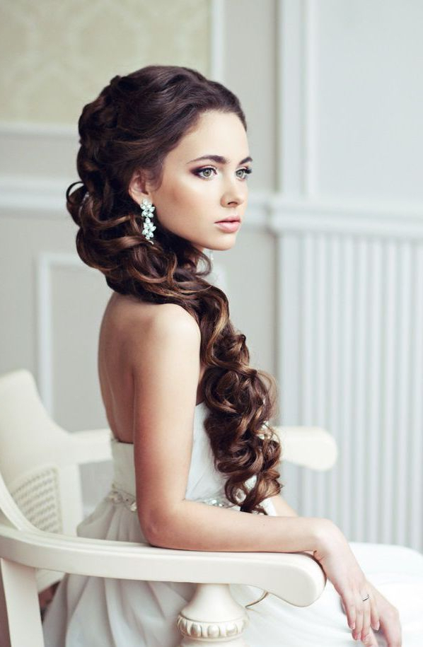 60+ Wedding & Bridal Hairstyle Ideas, Trends & Inspiration – The Xerxes Throughout Teased Half Up Bridal Hairstyles With Headband (View 25 of 25)