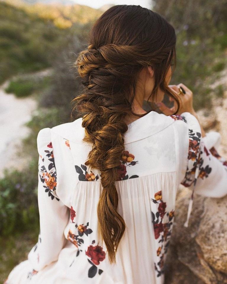 61 Braided Wedding Hairstyles | Brides For Mermaid Inspired Hairstyles For Wedding (View 14 of 25)