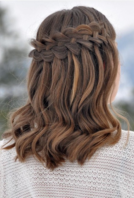 61 Braided Wedding Hairstyles   Brides Regarding Double Braided Look Wedding Hairstyles For Straightened Hair (View 9 of 25)