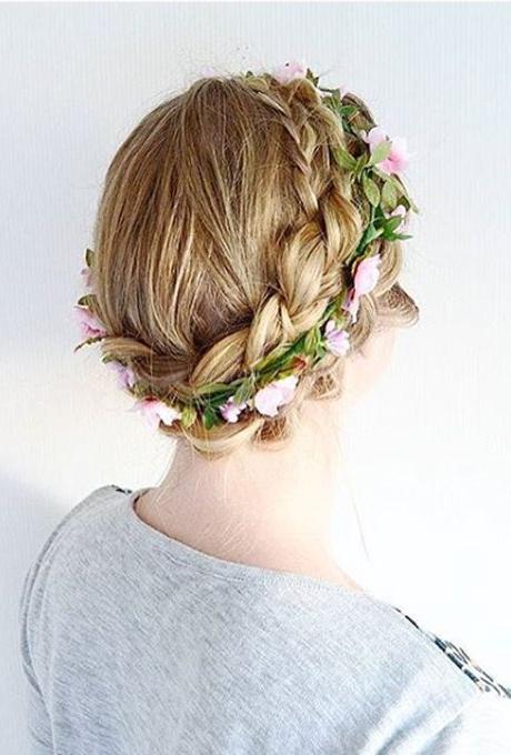 61 Braided Wedding Hairstyles   Brides Regarding Double Braided Look Wedding Hairstyles For Straightened Hair (View 21 of 25)