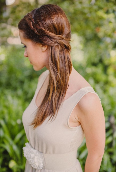 61 Braided Wedding Hairstyles | Brides Throughout Natural Looking Braided Hairstyles For Brides (View 4 of 25)