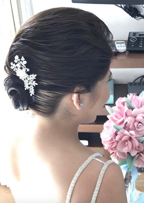 63 Creative Updos For Short Hair Perfect For Any Occasion – Glowsly In Upswept Hairstyles For Wedding (View 12 of 25)