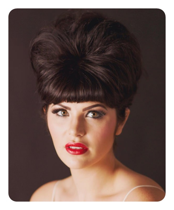 66 Stunning Beehive Hairstyles That Will Wow You With Sleek And Voluminous Beehive Bridal Hairstyles (Gallery 18 of 25)