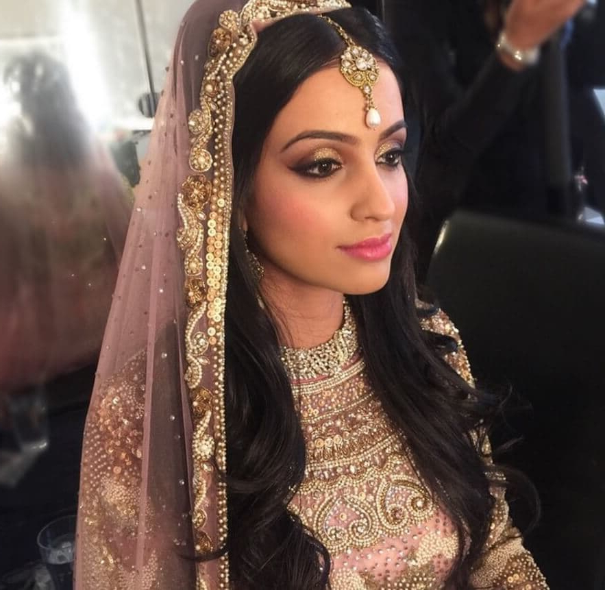 7 Asian Bridal Hairstyles That'll Make You Look 10/10 On The Big Day For Bedazzled Chic Hairstyles For Wedding (Gallery 16 of 25)