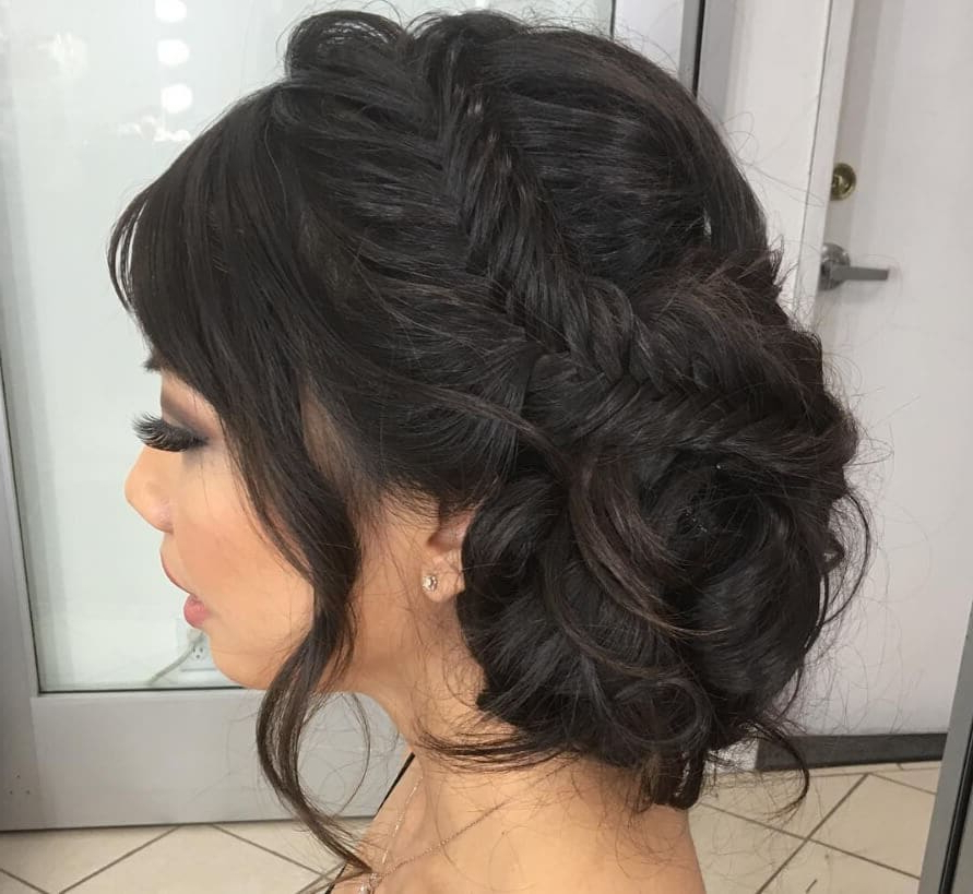 7 Asian Bridal Hairstyles That'll Make You Look 10/10 On The Big Day In Bedazzled Chic Hairstyles For Wedding (Gallery 10 of 25)