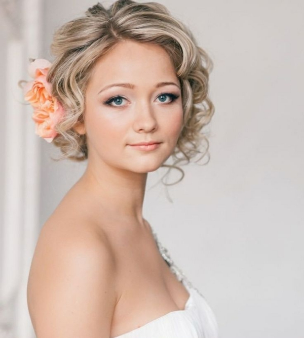 70 Steal Worthy Long And Short Weddings Hairstyles With Short Wedding Hairstyles With Vintage Curls (Gallery 16 of 25)