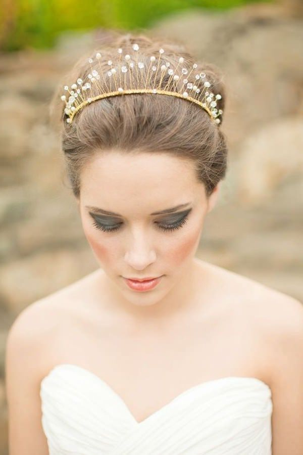 71 Wedding Hairstyles For Short, Medium & Long Hair – Style Easily With Pulled Back Layers Bridal Hairstyles With Headband (Gallery 21 of 25)